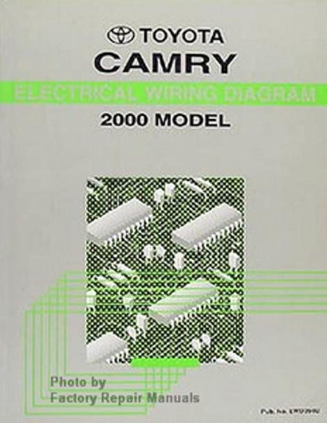 2000 Toyota Camry Electrical Wiring Diagrams Original Factory Manual