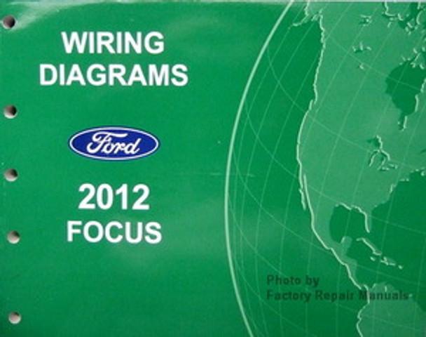 2012 Ford Focus Electrical Wiring Diagrams - Original ...