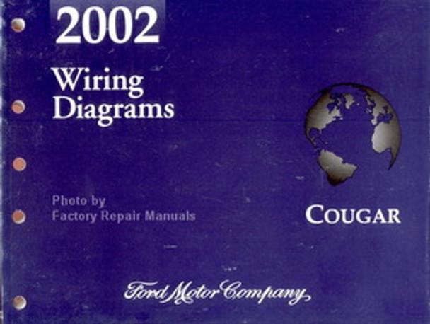 2002 Mercury Cougar Electrical Wiring Diagrams Original