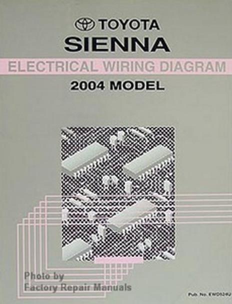 2004 Toyota Sienna Electrical Wiring Diagrams Original