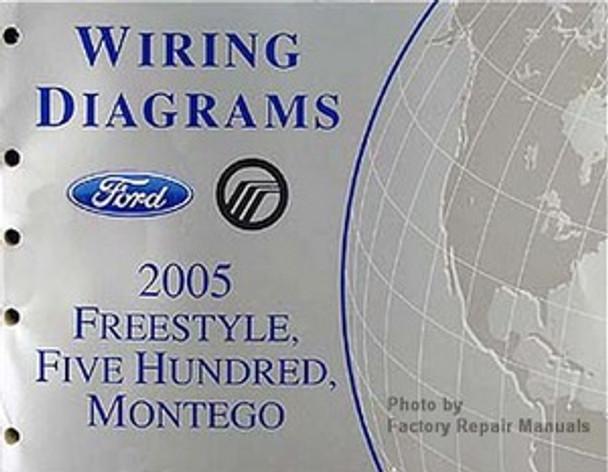 2005 Ford Freestyle  Five Hundred  U0026 Mercury Montego