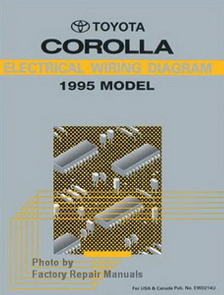 1995 Toyota Corolla Electrical Wiring Diagrams Original