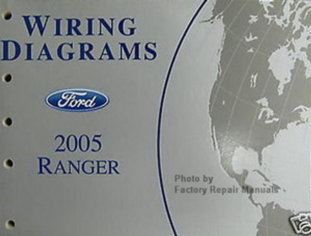 2005 Ford Ranger Electrical Wiring Diagrams Original Factory Manual