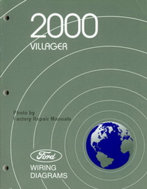 2000 Mercury Villager Electrical Wiring Diagrams