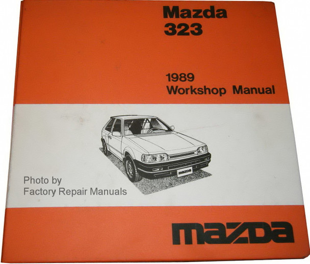 1989 Mazda 323 Factory Shop Manual  U0026 Wiring Diagrams