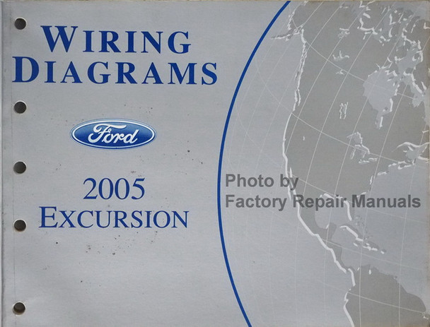 2005 Ford Excursion Electrical Wiring Diagrams Original Manual