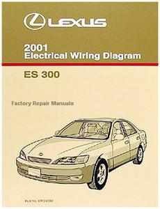 2001 Lexus ES300 Electrical Wiring Diagrams - Original ES ...