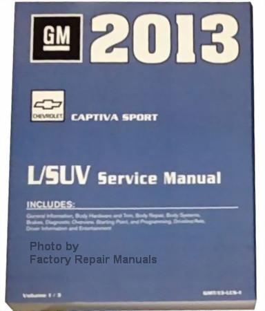 Repair Manuals & Literature Auto Parts & Accessories CAPTIVA SPORT ...
