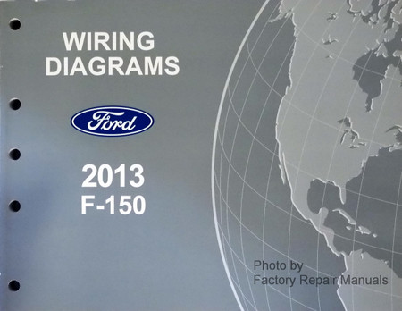 2013 ford f-150 electrical wiring diagrams manual new - factory repair  manuals  factory repair manuals