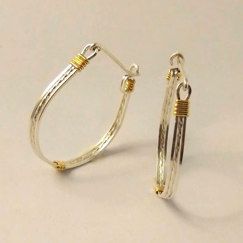 14-0421.19s Hoop Earrings - VEC Short