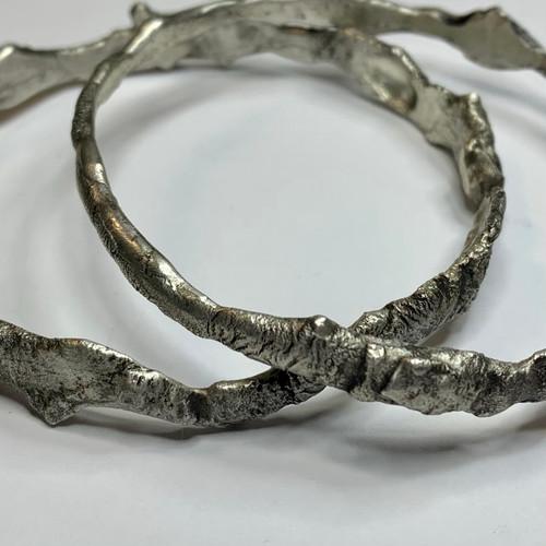 15-0421.38 Fused Silver Scrap Bracelet