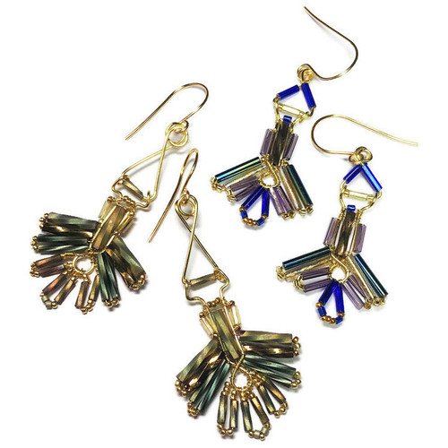 17-0421.38  Deco-Style Earrings