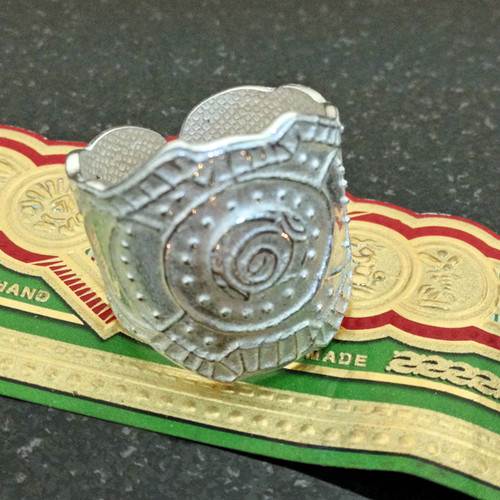 Cigar Band Ring (PMC960) Extended Viewing