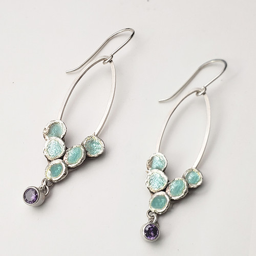 Azure Earrings Extended Viewing