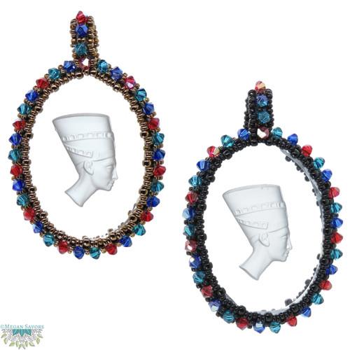 23-1021.21  Jeweled Nefertiti Pendant