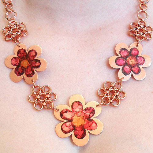 22-1021.04  Daisy Chain Necklace