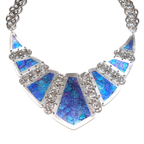 24-1021.25  Parallel Panels Necklace