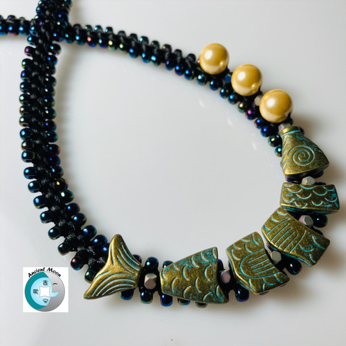 21-1021.04 Good Luck Fish Necklace