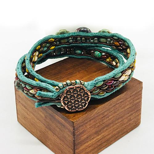 24-1021.28  Soutache Wrap Bracelet