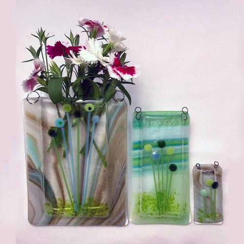 21-1021.23 Fused Glass Vase