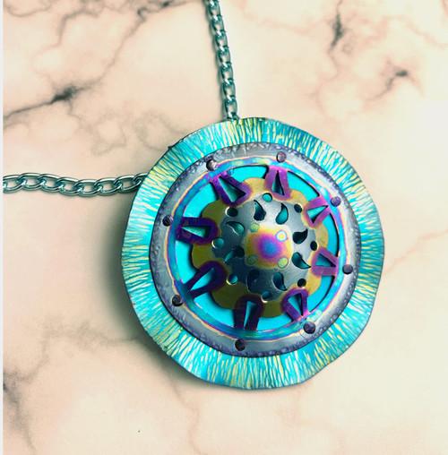 23-1021.11  Magical Mandala Necklace