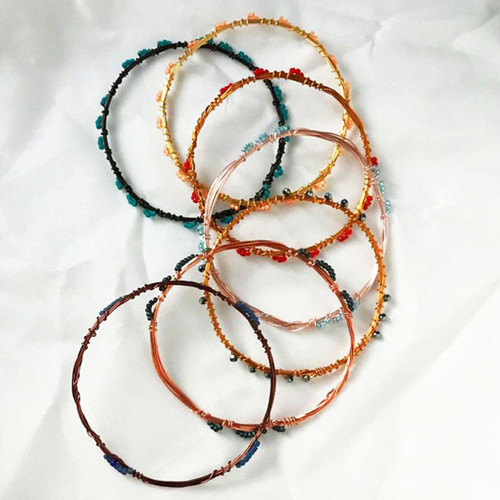 20-1021.02s Easy Stackable Bracelet - VEC Short