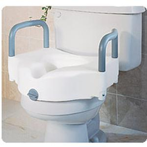 Enjoyable Drive 2 In 1 Locking Elevated Raised Toilet Seat Gamerscity Chair Design For Home Gamerscityorg
