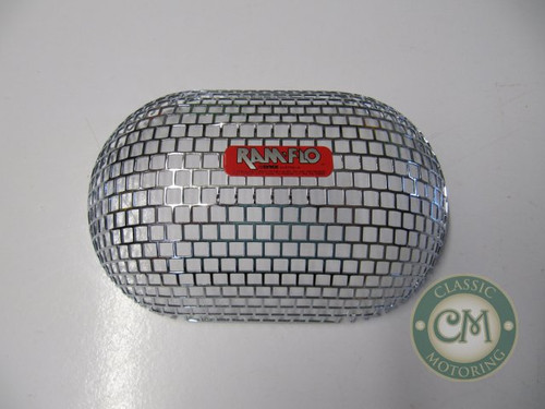 Ramflo Air Filter RF400 Chrome Shell