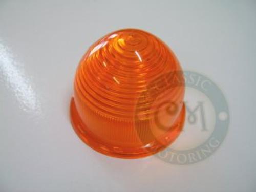 Indicator/Park Lamp Lense - Plastic, Orange