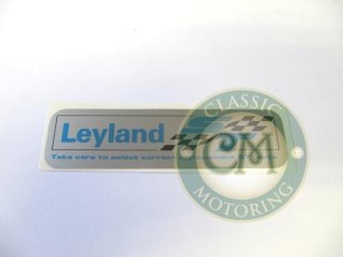 """Sticker """"Leyland ST"""""""