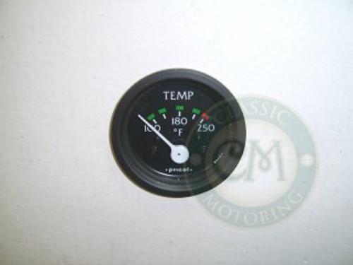 Temperature Gauge - Black Rim (Fahrenheit)