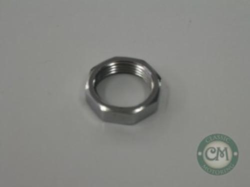 Wiper Wheel Box Chrome Nut - late 8 sided