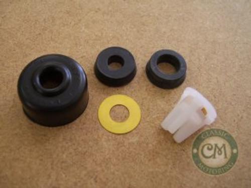 "Brake Master Cylinder Kit - Tin Tank, 0.7"" Bore, Groove on Body"