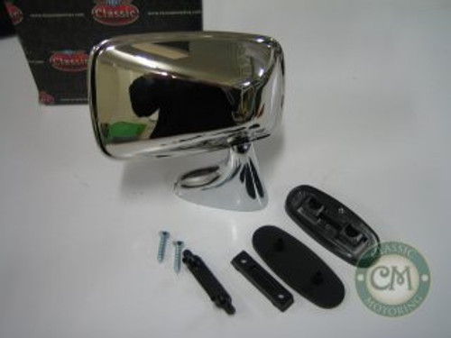 Door Mirror (Stainless Steel) - Right Hand