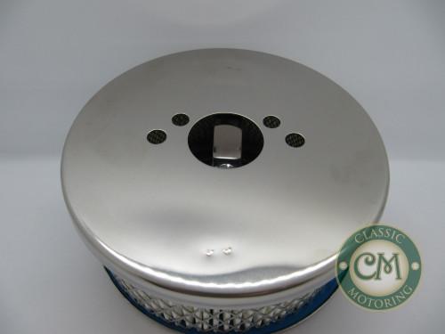"""16-1 Chrome Air Filter - Suit 1 1/4"""" SU"""