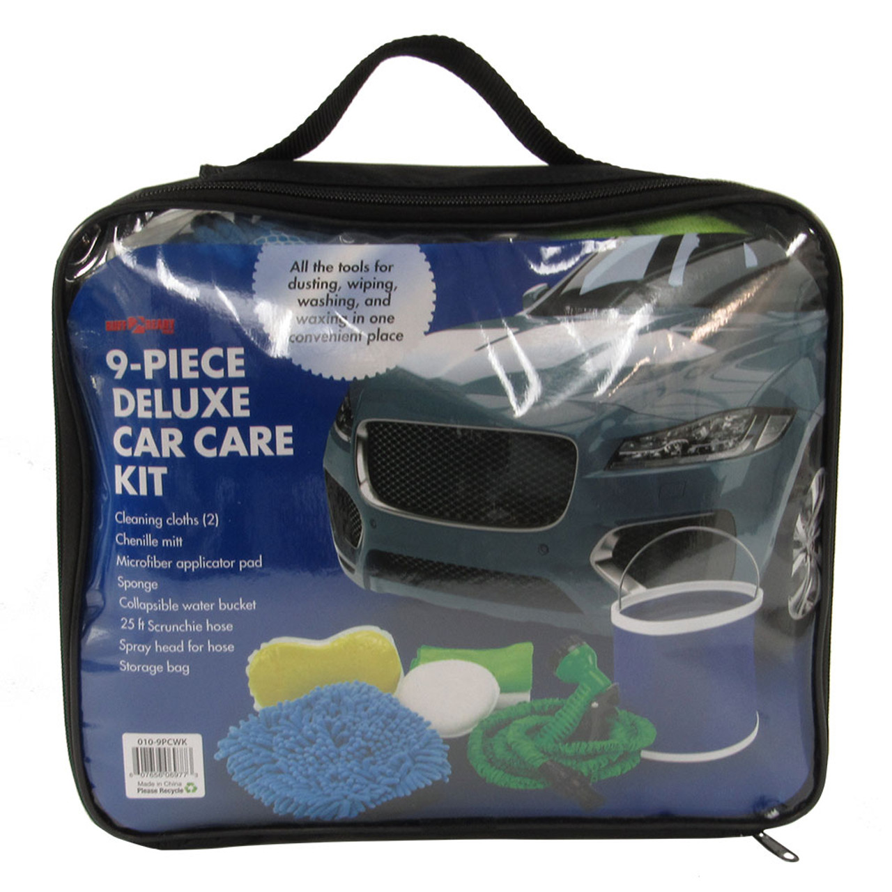 Deluxe 9-Piece Car Care Kit
