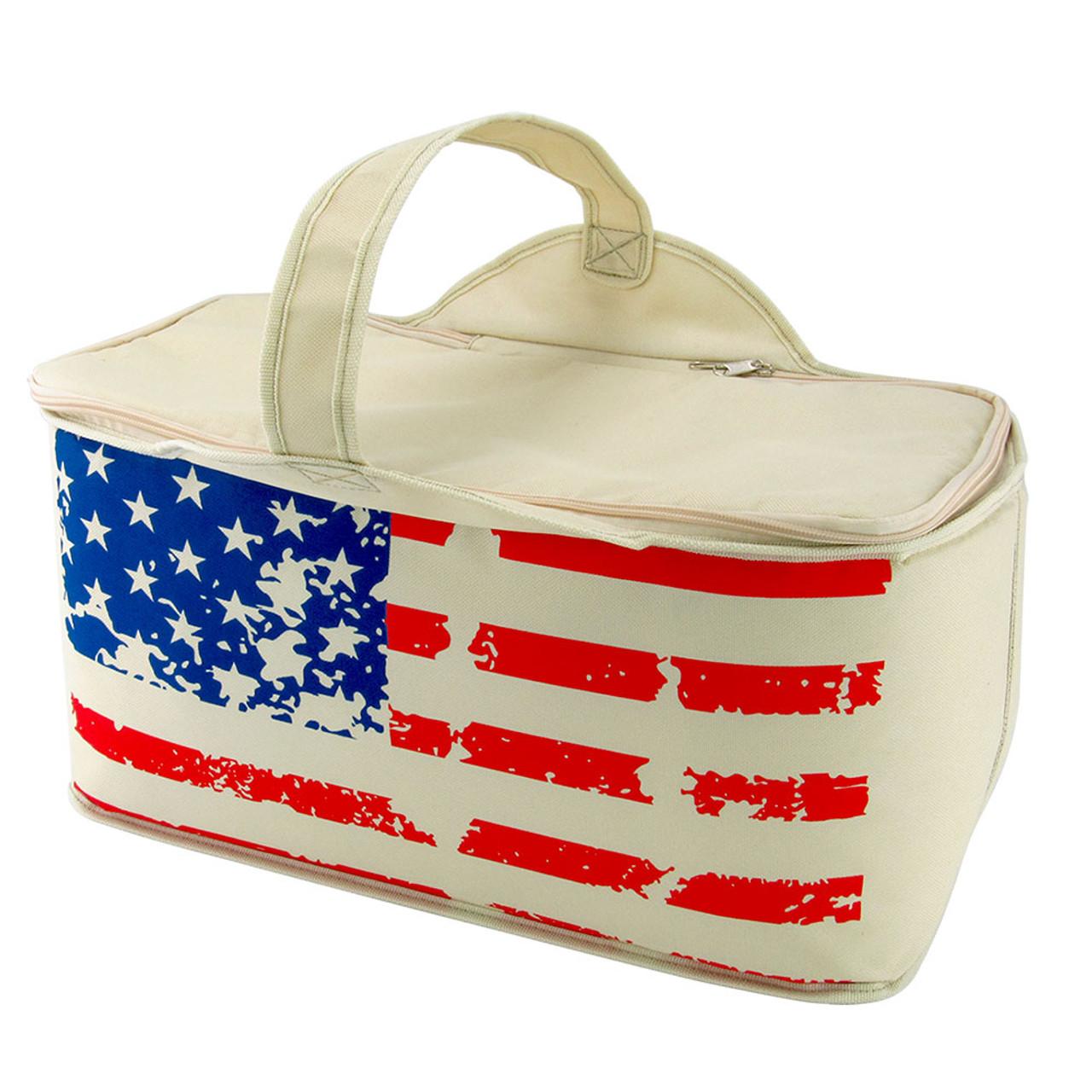 Patriotic Leak Proof Cooler Bag