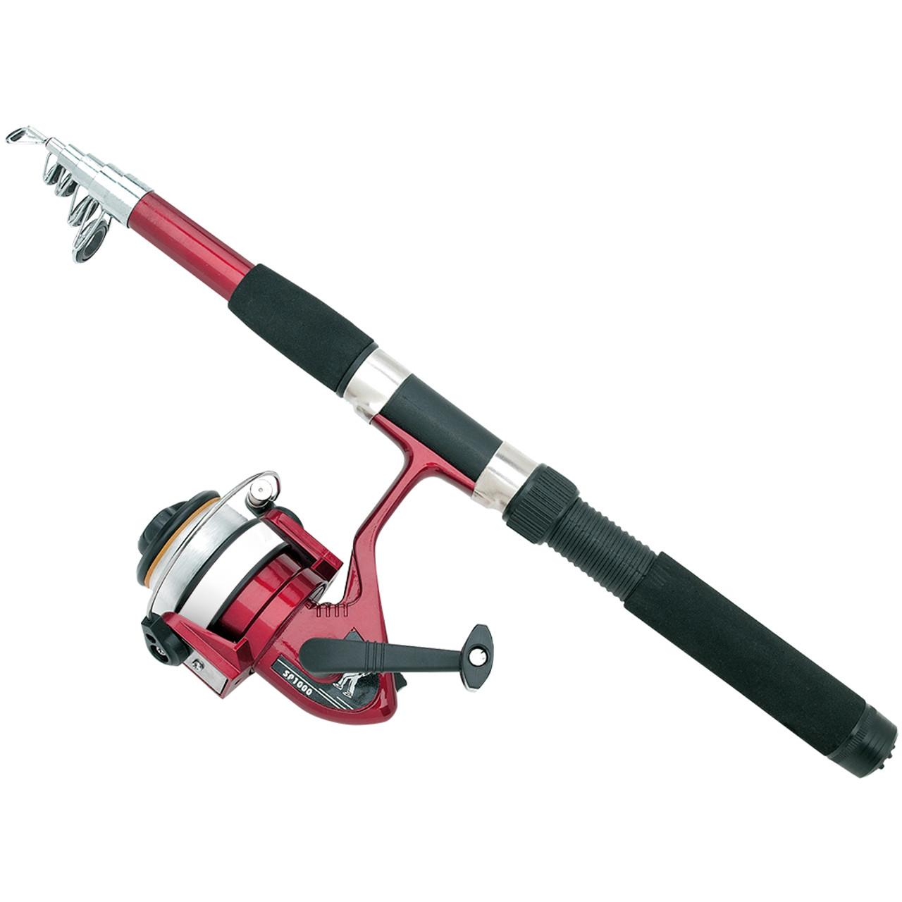 Telescoping Fishing Rod & Reel Set