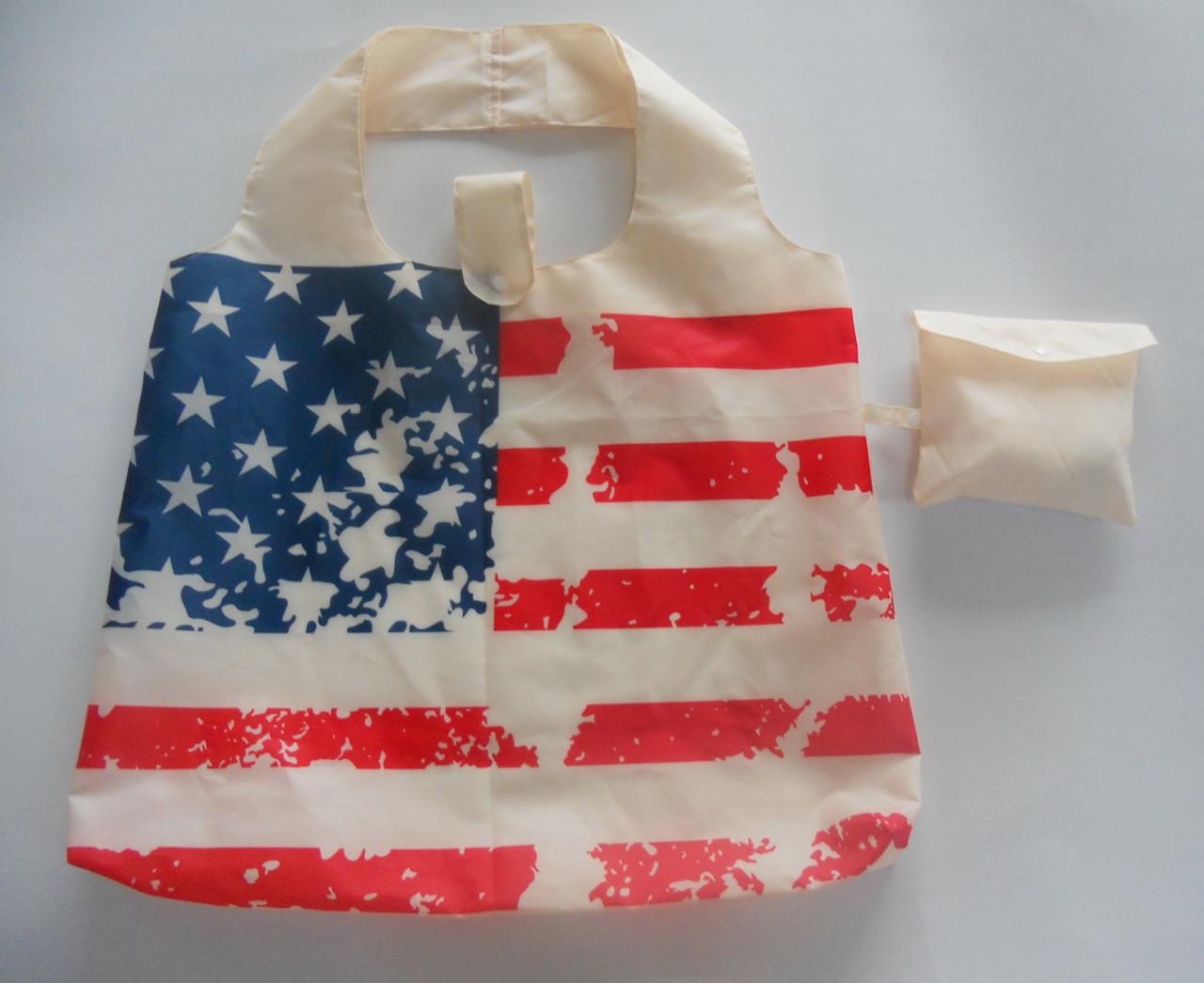 Folding Stars & Stripes Bag