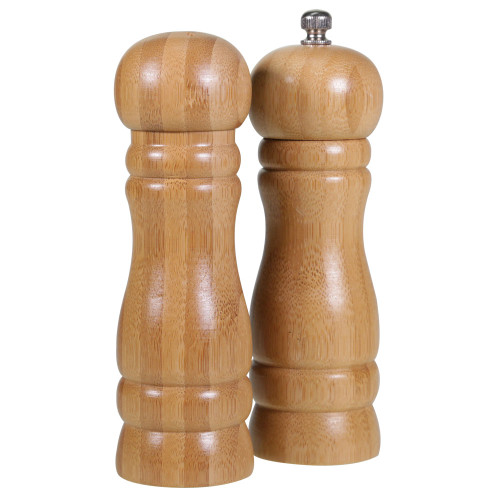 Bamboo Salt & Pepper Set