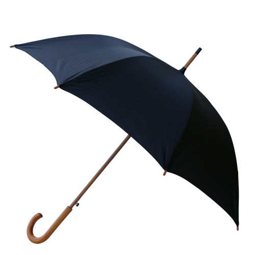 48 Inch Lux Wood Umbrella