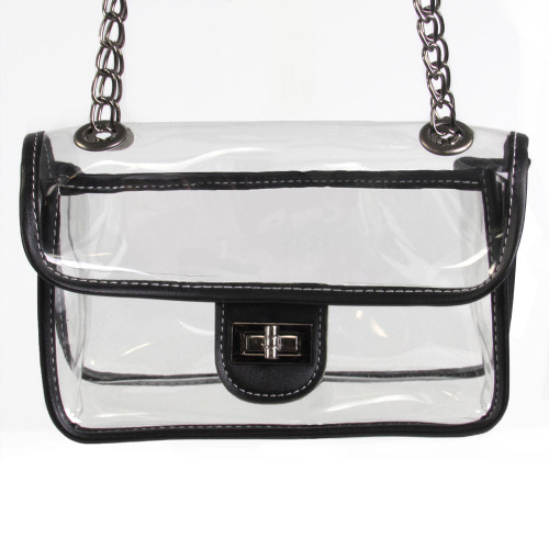 Clear Crossbody Handbag