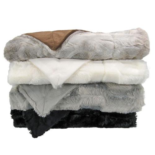 Faux Fur Micro Mink Blanket