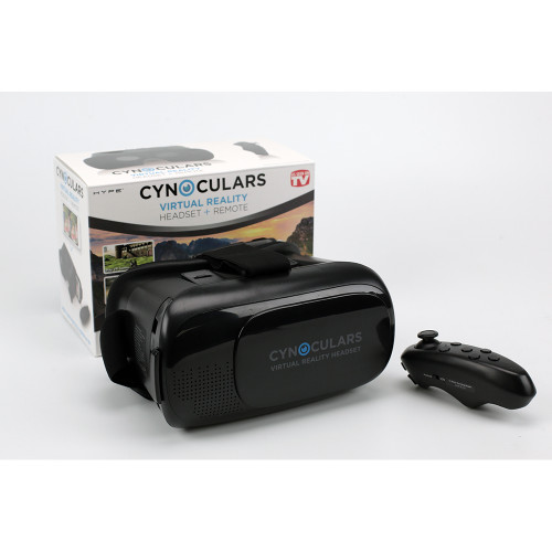Virtual Reality Headset + Remote