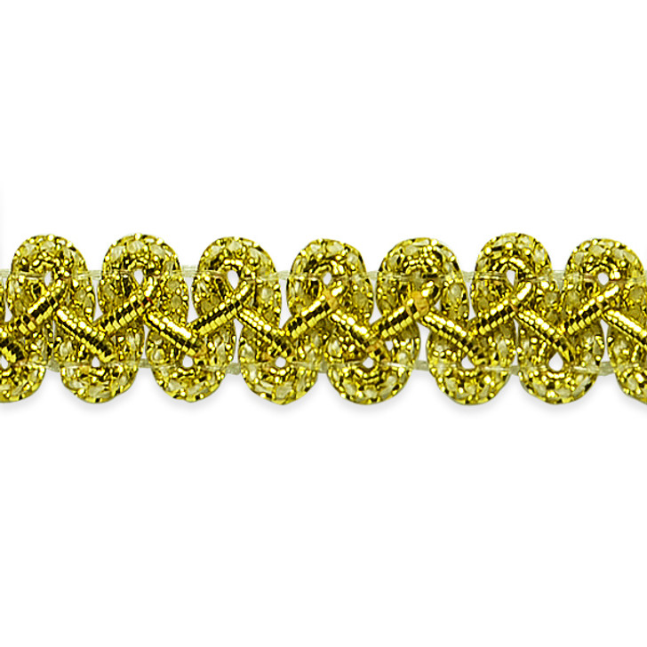"Emily 1/2"" Metallic Braid Trim"