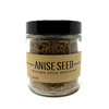1/2 cup jar of Anise Seed on a white background