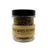 1/2 cup jar of Sideways Pepper