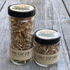 1 cup jar and 1/2 cup glass jar size options for Toasted Onion Salt