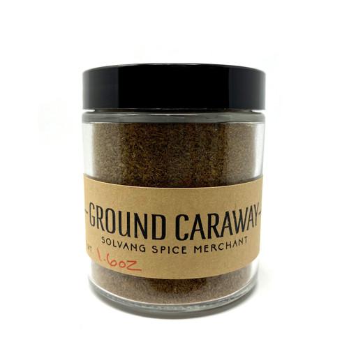 1/2 cup jar of ground caraway