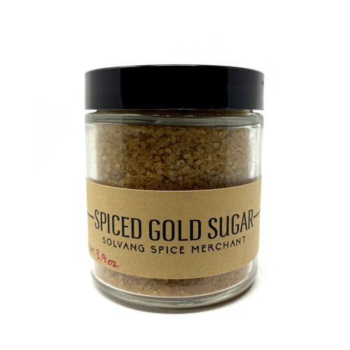 Spiced Gold Sugar